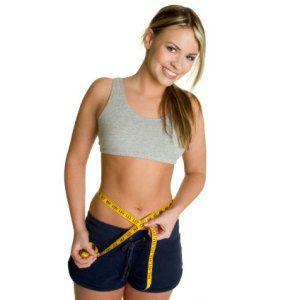 убрать жир области талии