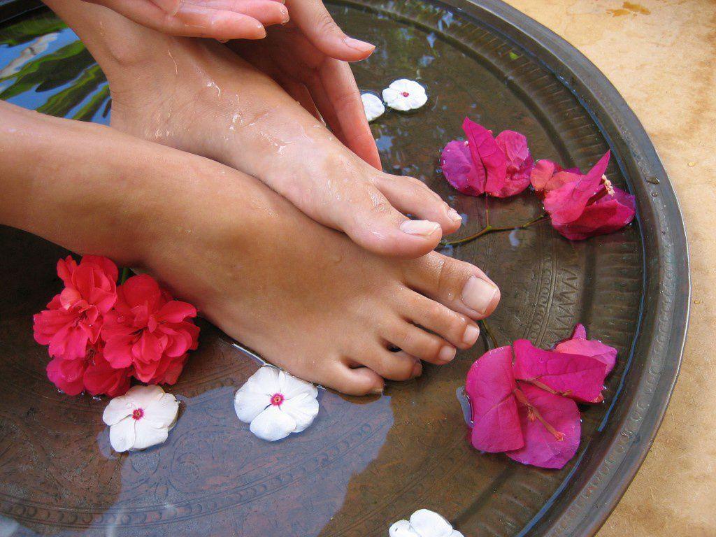 Ванночки от грибков на ногах в домашних условиях
