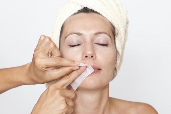 Как удалить волос на лице в домашних условиях