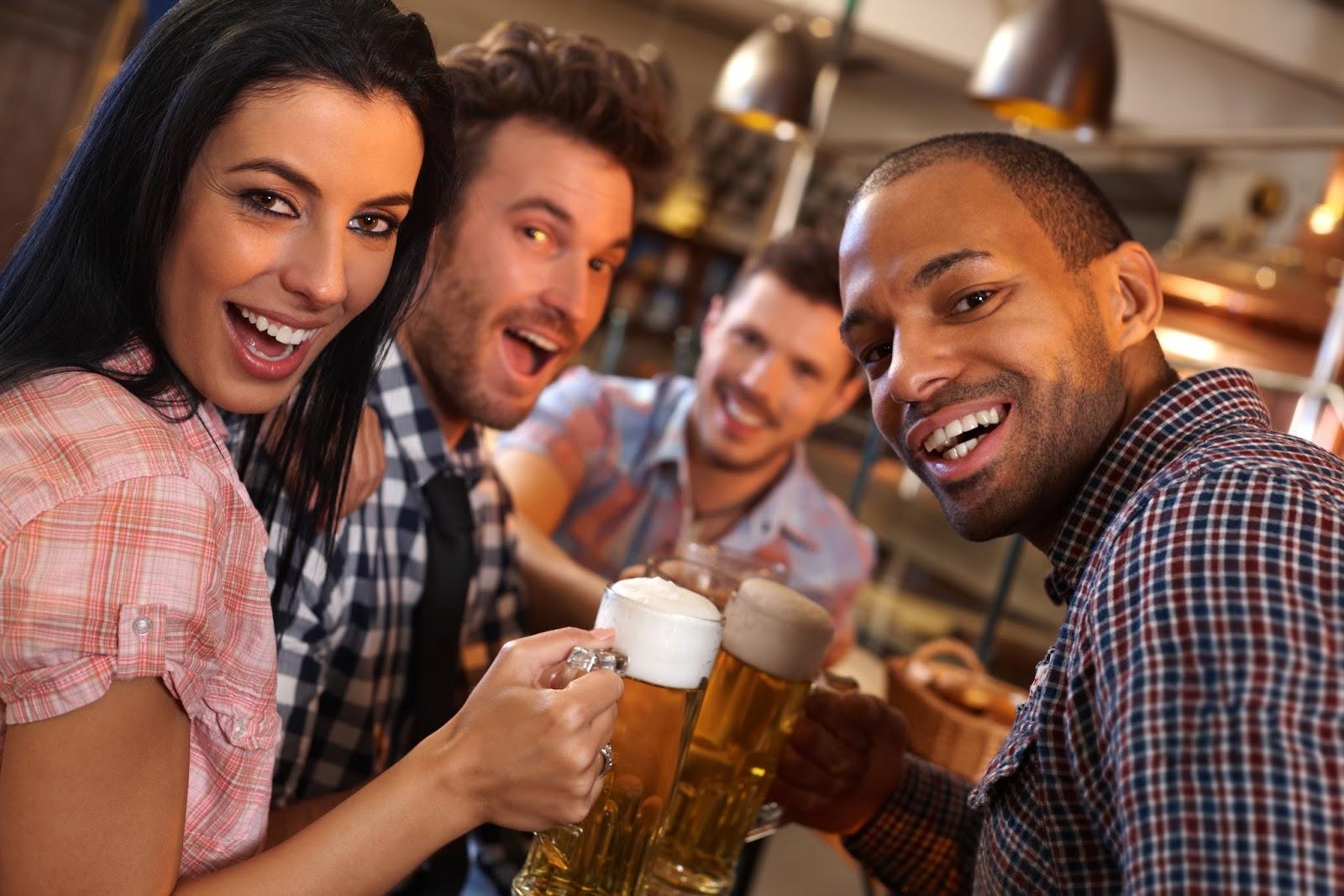 парням нравятся девушки любят пиво