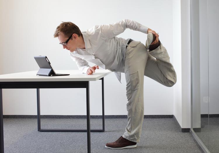 работа стоя способствует похудению ученые