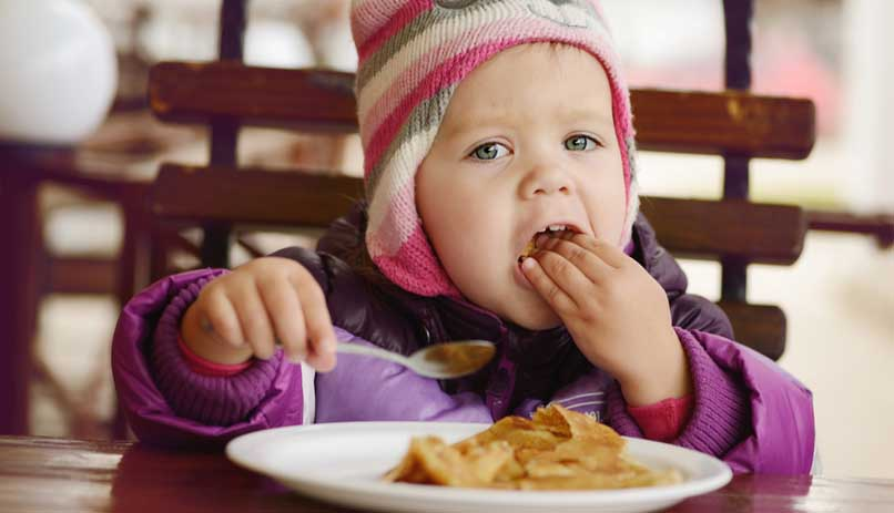 дети привередливы еде ученых