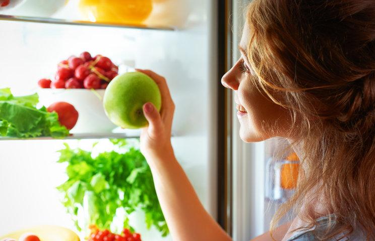 зона свежести грязное холодильнике