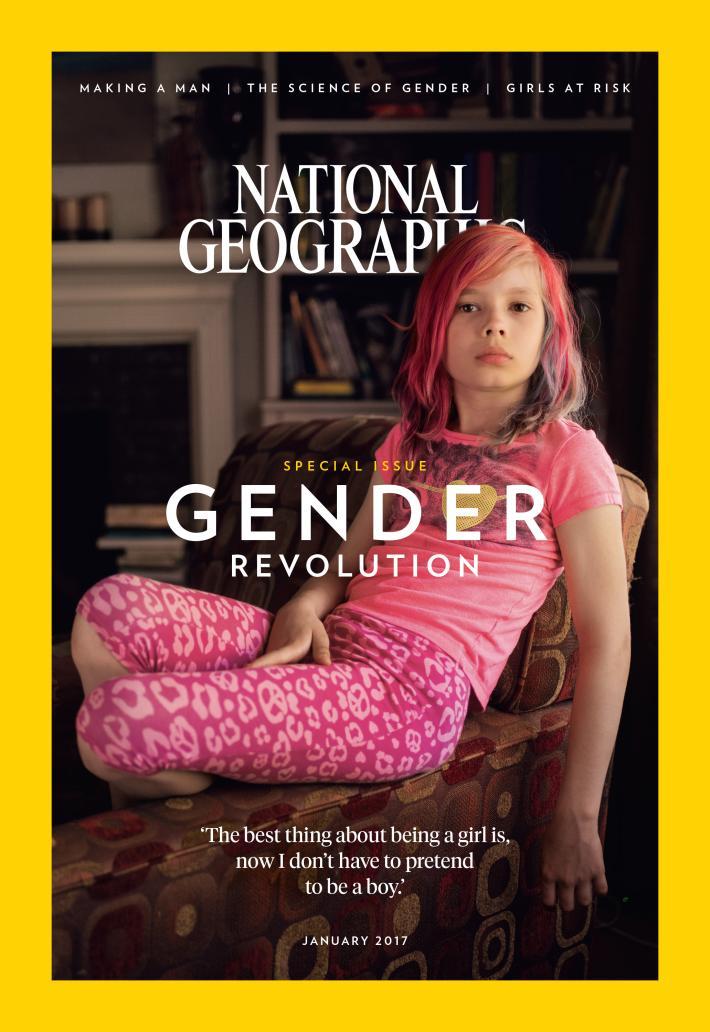 national geographic впервые опубликовал обложке 9-летнюю девочку-трансгендера